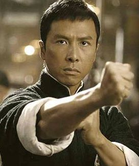 """Donnie Yen, I never appreciated martial arts movies until I watched him in """"Ip Man"""",  what a great actor, never mind the action sequences.  I think I love him ;-)"""