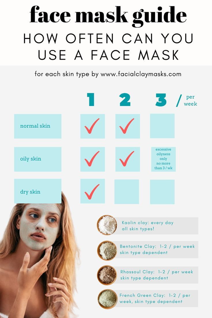 Omg We Love Clay Masks But Can We You A Clay Mask Everyday Face Mask Guide Excessive Oily Skin Beauty Tips For Skin