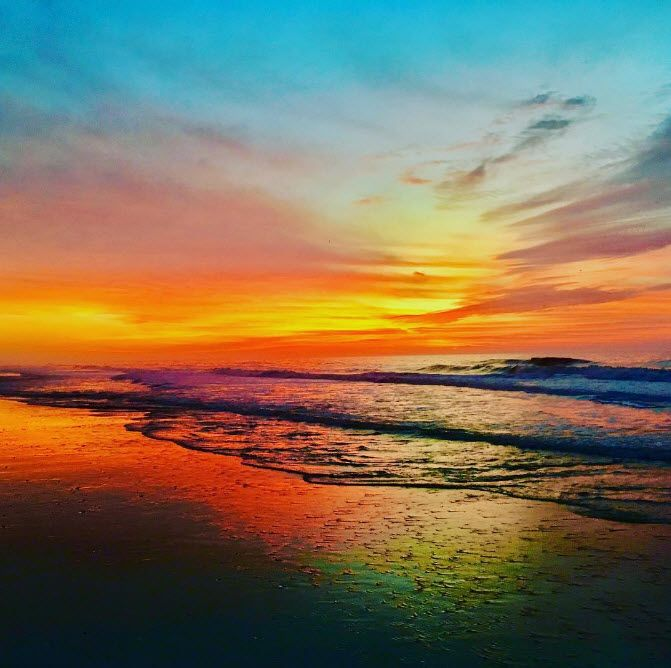 What a way to start the day! Myrtle Beach, South Carolina | sunrise | Photo via IG user @kcbhakti