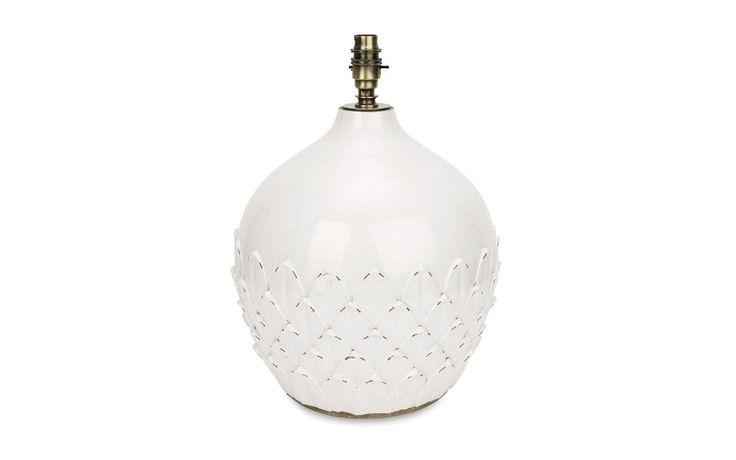 Hascombe Artichoke Ceramic Lamp Base
