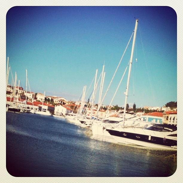 yachts at Cesme Marina