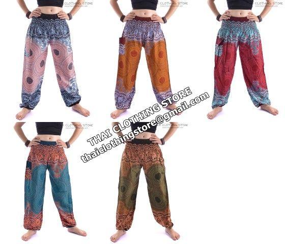 thai harem pants for women | Thai Harem Pants,Women Harem Pants,One Size Fits Most - Buy Harem ...