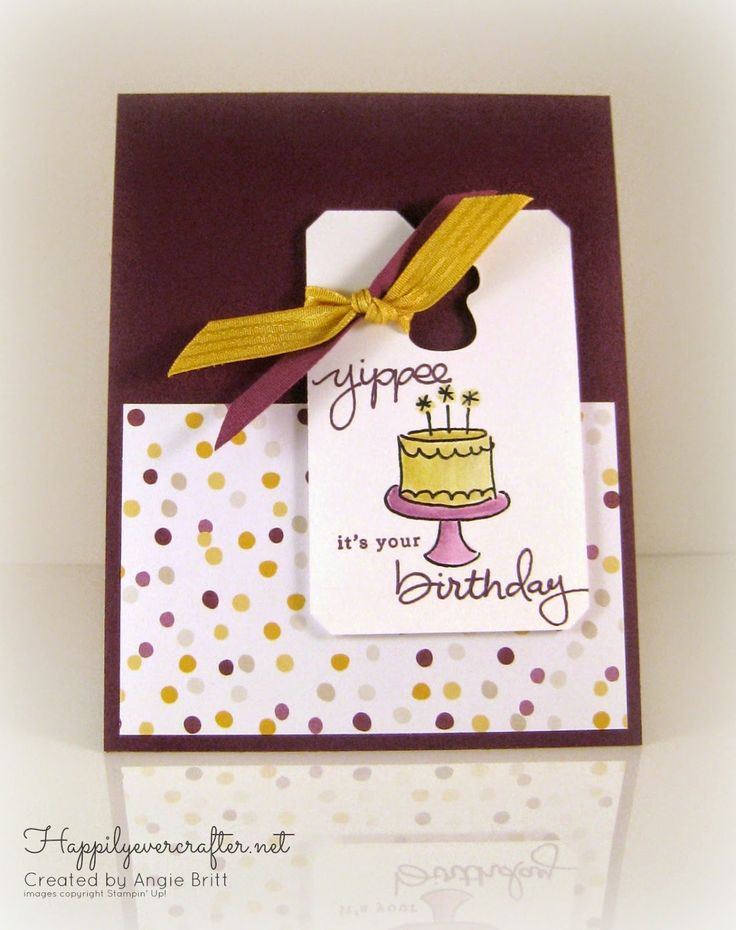 Happily Ever Crafter: Endless Birthday Wishes, Stampin' Up!
