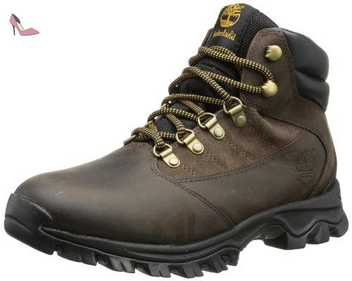 6 in Double Collar Waterproof, Bottes Homme, Marron (Brown), 44.5 EUTimberland