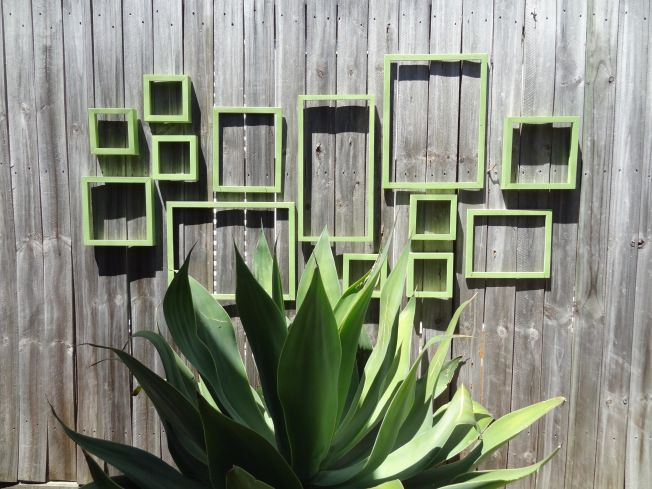 Exterior Wall Art 23 best outdoor wall art images on pinterest | plants, gardening