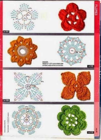 Flores en crochet   Aprender manualidades es facilisimo.com