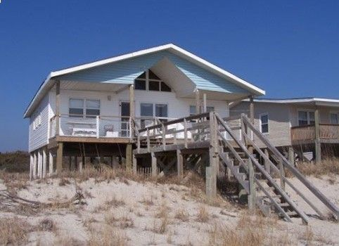 Perfect ocean front cottage on Oak Island called Windrift.  Check it out on VRBO.com #262604
