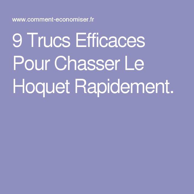 9 Trucs Efficaces Pour Chasser Le Hoquet Rapidement.