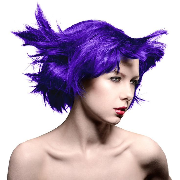 Fancy a purple makeover on those locks? Check out our Manic Panic Amplified™ Ultra Violet Semi Permanent Hair Color 118ml for a new style in a heartbeat!