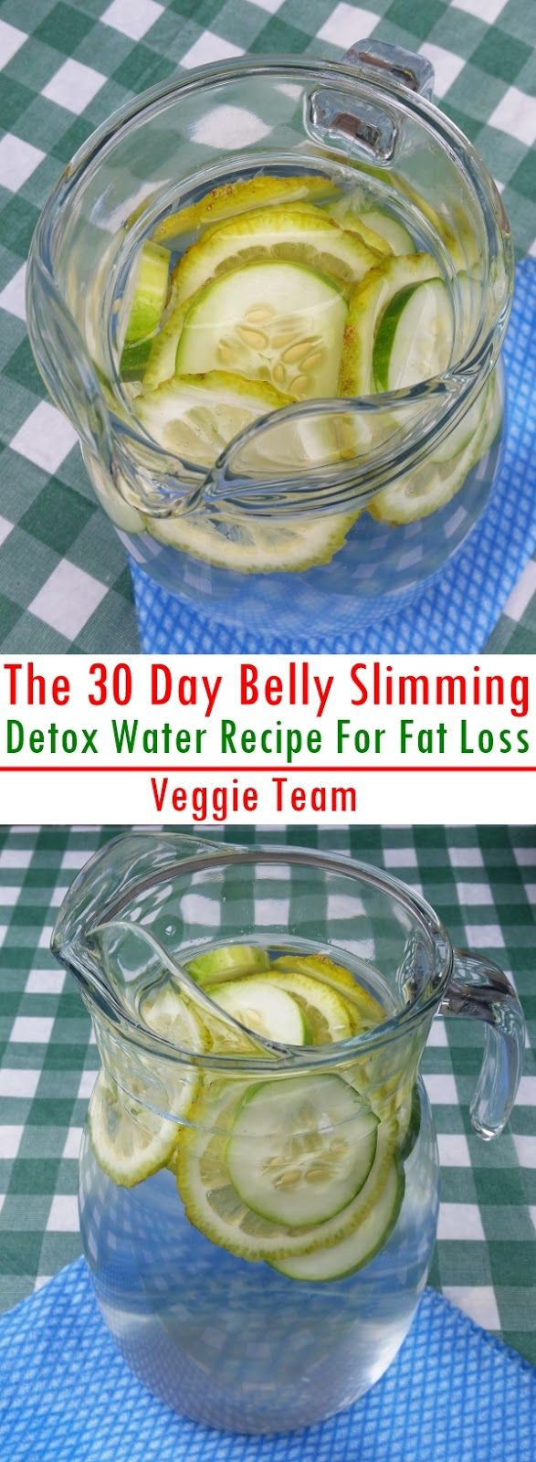 Get rid of that big belly that is weighing you down and preventing you from living a normal happy life with The 30 Day Belly Slimming Detox Water Recipe.