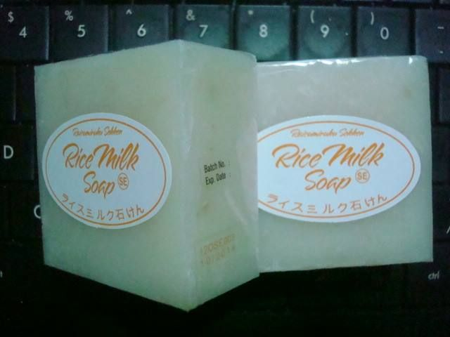 Rice Milk Soap Made from rice, milk, honey and olive oil. Very good for your face and body skin