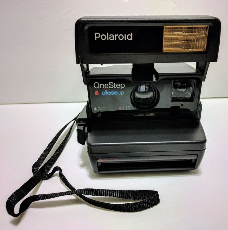 Polaroid OneStep closeup Instant 600 Film Camera ~UNTESTED~  Very Good Condition #Polaroid