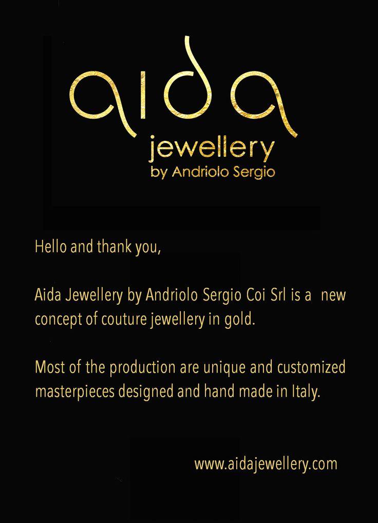 Aida Jewellery by Andriolo Sergio Coi Srl at VICENZAORO Pav. 1 Booth 144 www.aidajewellery.com
