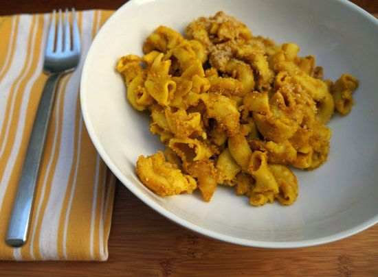 Vegan Mac and Cheese! High in iron and protein, low in saturated fat.