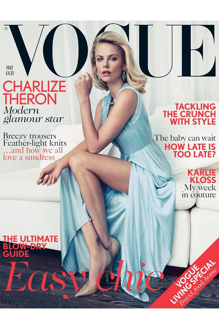 Vogue charlize theron