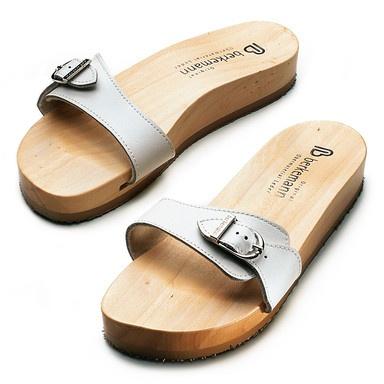 Berkemann Wooden Sandal