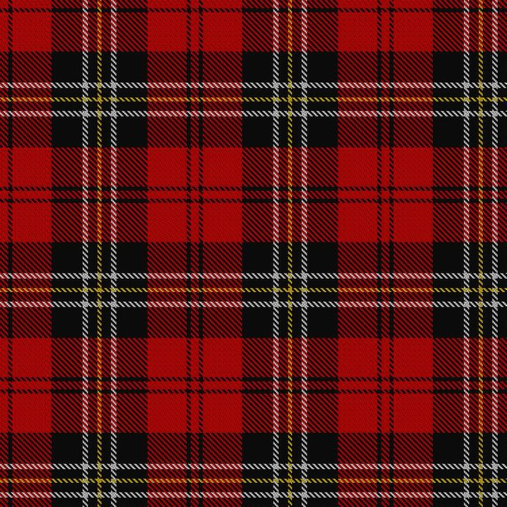 ~+~+~ MacPherson Tartan ~+~+~ Red Cluny Sett.  The MacPhersons were Royalists and aided the Royal Stuarts during the Jacobite Risings of 1715 and 1745. After the 1745 Rising, Cluny MacPherson, who assisted Prince Charlie to escape, was in hiding on his own estate for nine years and a reward of £1,000 was offered for his capture. Cluny Castle was burned by Government troops, but was later rebuilt 1784.
