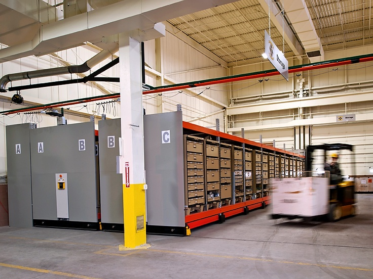 ActivRAC military logistics storage