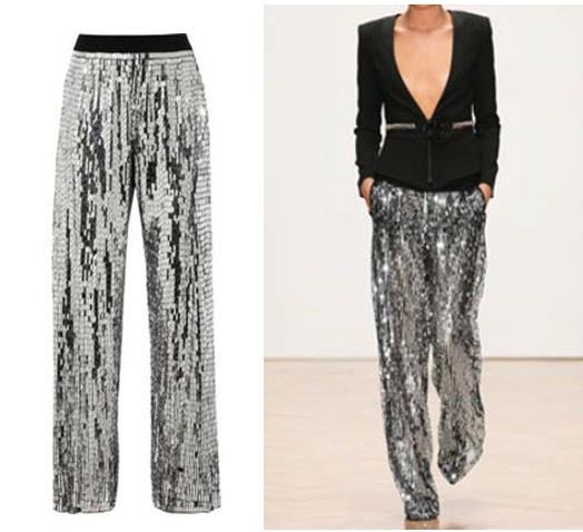 sass & bide, a grand affair metallic sequin pants, s/s 2013