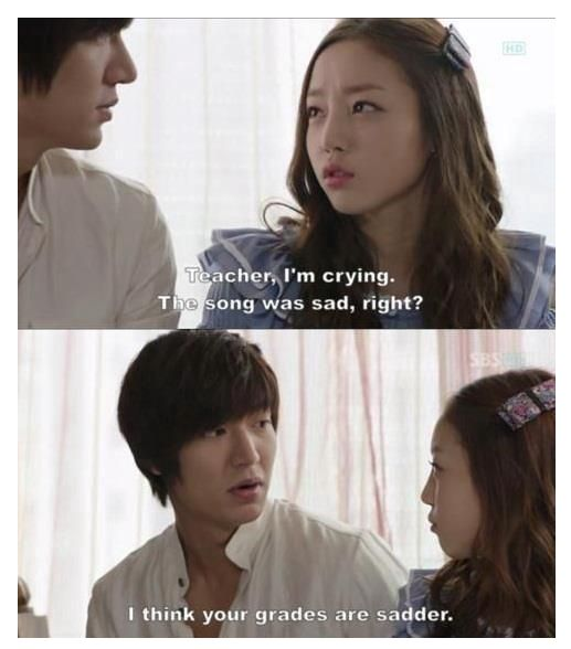 City Hunter #kdramahumor my grades sad cuz if kdramas