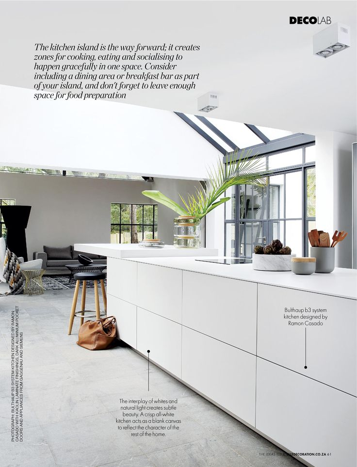 KITCHEN FLAVOUR   The Living heart of the home. Find out how to create your dream kitchen on page 45 of DECO's #IdeasIssue