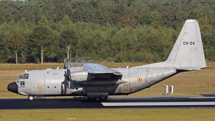 Belgische C-130H - CH-04