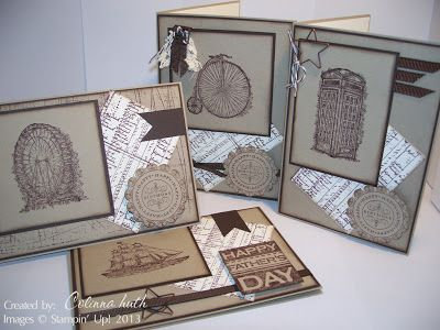 Colinna Huth - Independent Stampin' Up Demonstrator Australia: A Little Treat - CASED from here: http://crafthavenretreats.blogspot.com.au/2013/01/feeling-sentimental.html