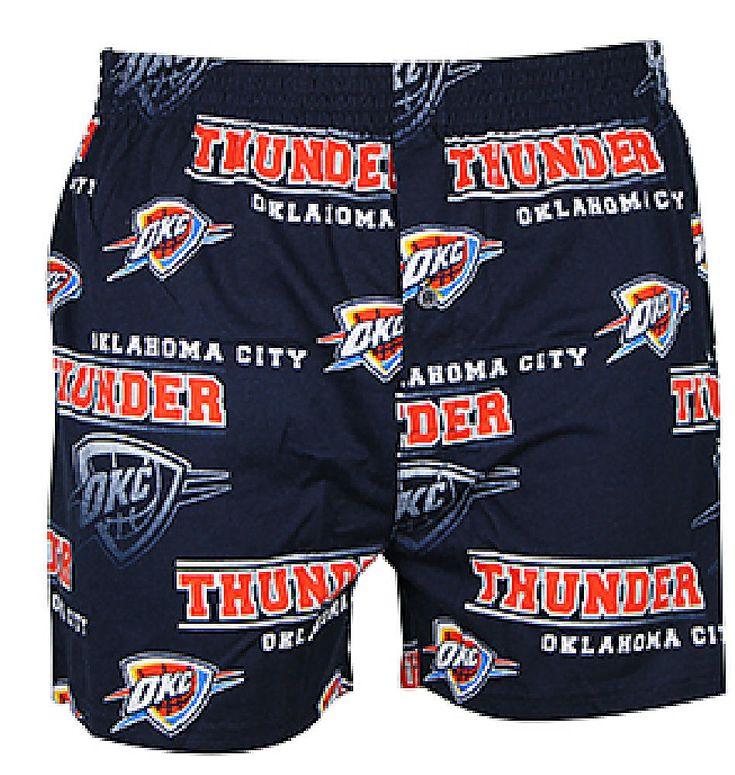 Oklahoma City Thunder Mens Navy Fusion Boxer Shorts by Concepts Sports $19.95
