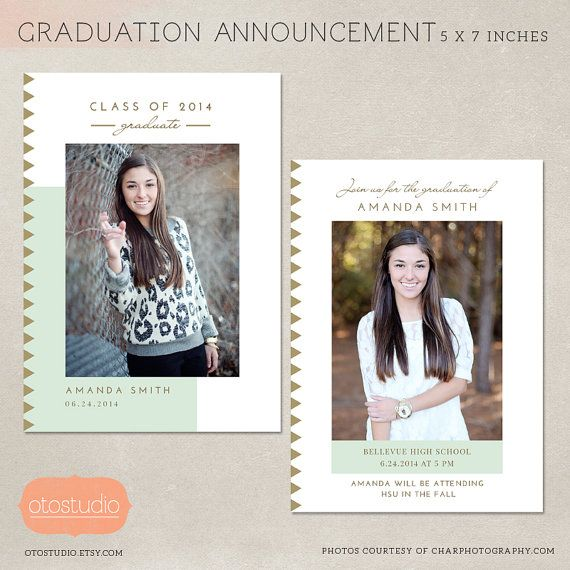 template for graduation announcement radiotodorock.tk