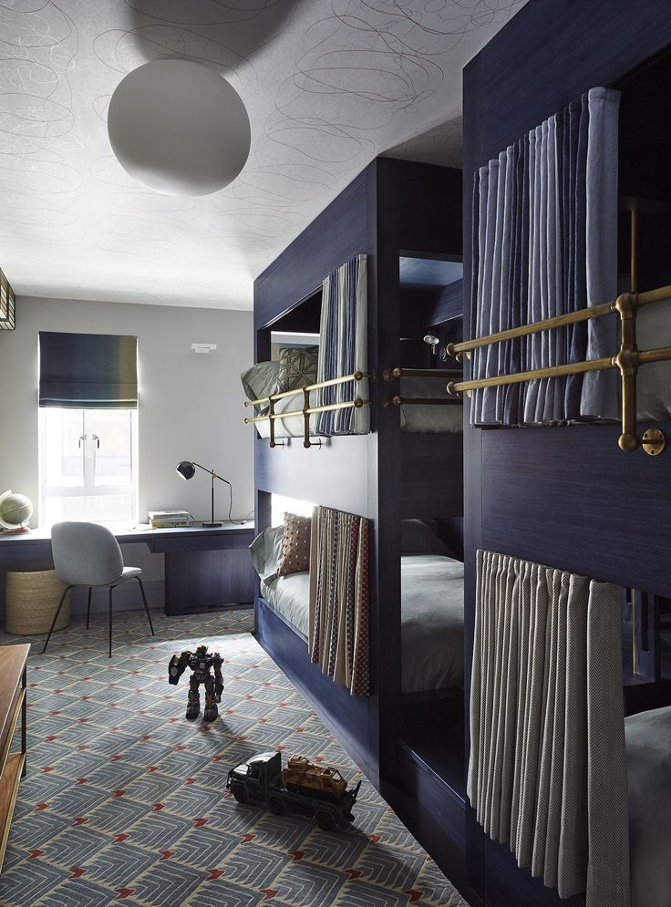 21 Enviable Bunk Room Designs for Kids