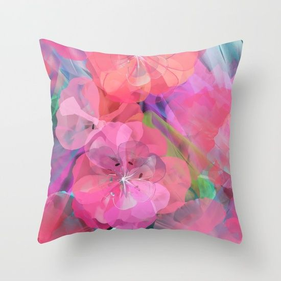 Flower carpet(60) Throw Pillow