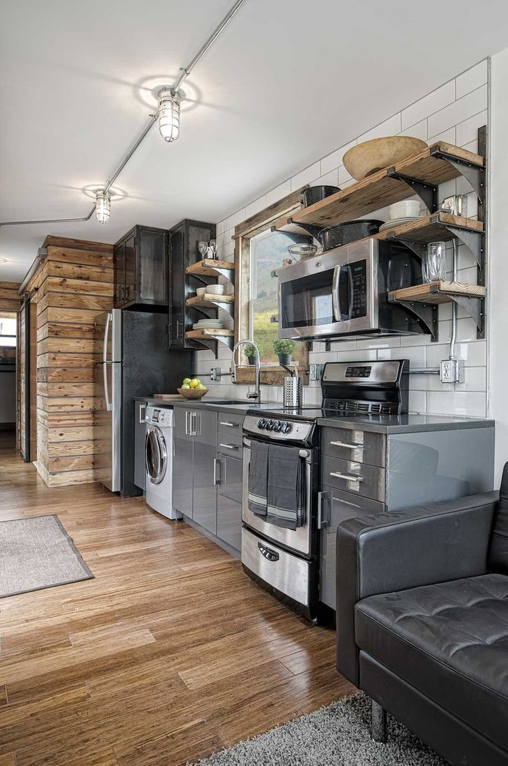 The freedom tiny house from minimalist homes llc a 300 sq ft shipping container
