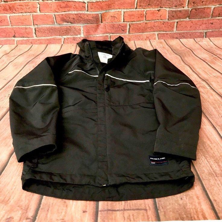 Polarn O Pyret Kids Ski Jacket Coat Size 122 Age 6-7 Zip Up Boys Mac Pockets