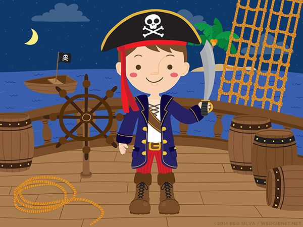 Pirate boy dress up game on Behance