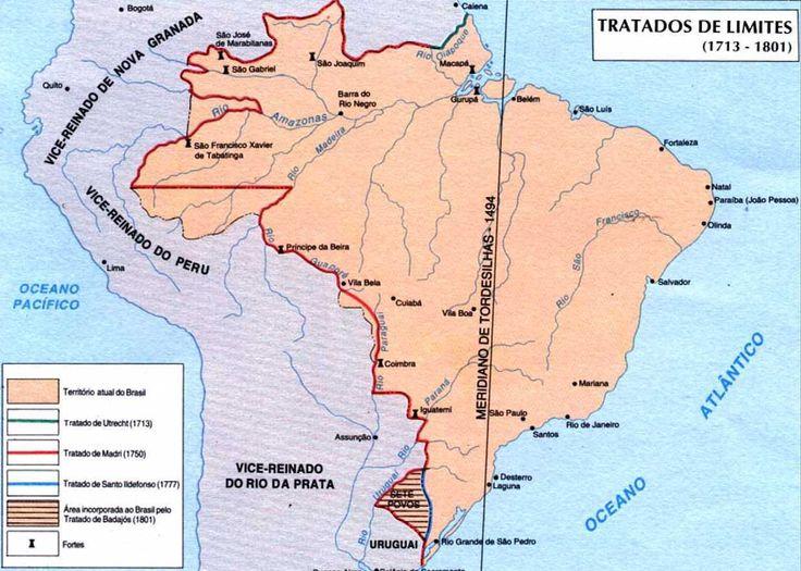 Mapas históricos Brasil-Colônia