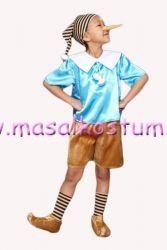 Pinokyo Kostümü Masal kahramanları,Erkek çocuk kostümleri,Kız çocuk kostümleri Masal kostüm MSL-09
