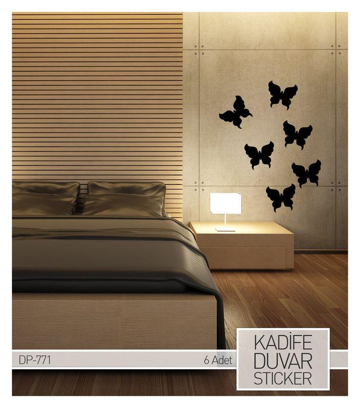 #ÖnemliOlan Kendinizi özel hissedeceğiniz bir oda da uyanmak..Günaydın :)  #sticker #günaydın #artikel #artikeldeko   Kadife Kelebek Stickerları için ---> http://www.artikeldeko.com.tr/dp-771-kadife-duvar-sticker-6-adet-