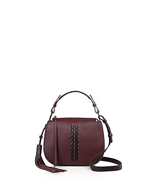 ALLSAINTS KEPI LEATHER CROSSBODY. #allsaints #bags #shoulder bags #leather #crossbody #