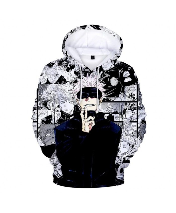 Anime Jujutsu Kaisen Hoodies 3d Print Men Womens Streetwear Sweatshirt Oversized Boy Hoodie Harajuku Hip Hop Pullover Men In 2021 Anime Hoodie Hoodies Streetwear Women