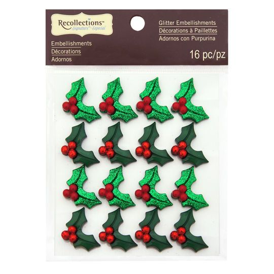 Holly Embellishments by Recollections™