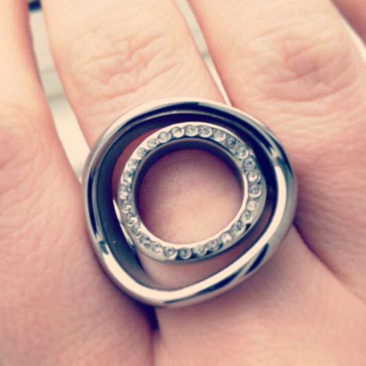 My statement ring from Fossil at www.fossil.co.uk