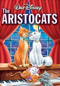 The AristoCats (1970) Director: Wolfgang Reitherman Producer: Winston Hibler  Wolfgang Reitherman Written by: Ken Anderson Larry Clemmons Eric Cleworth Stars: Phil Harris Eva Gabor Harmione Baddeley Music: George Bruns Songs: Richard and Robert Sherman Walt Disney  Run Time: 78 min ~ A family of Parisian felines set to inherit a fortune try to make it back home after a jealous butler kidnaps them and leaves them in the country.