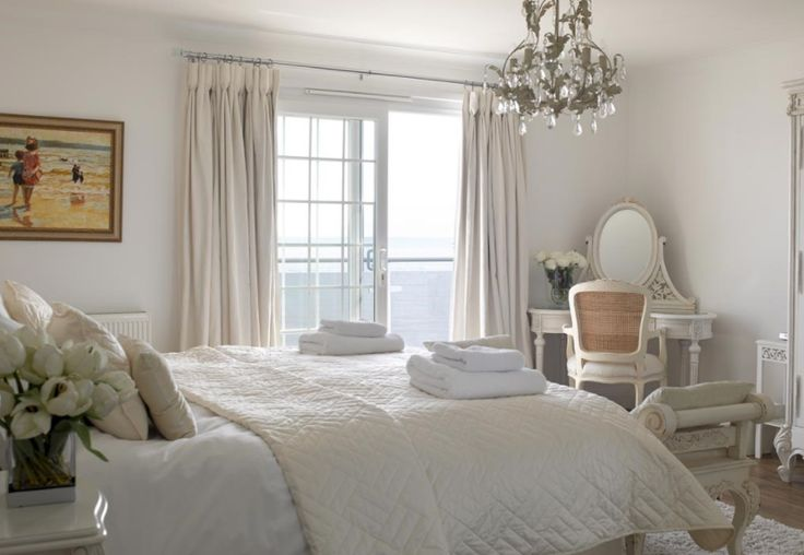white interior room
