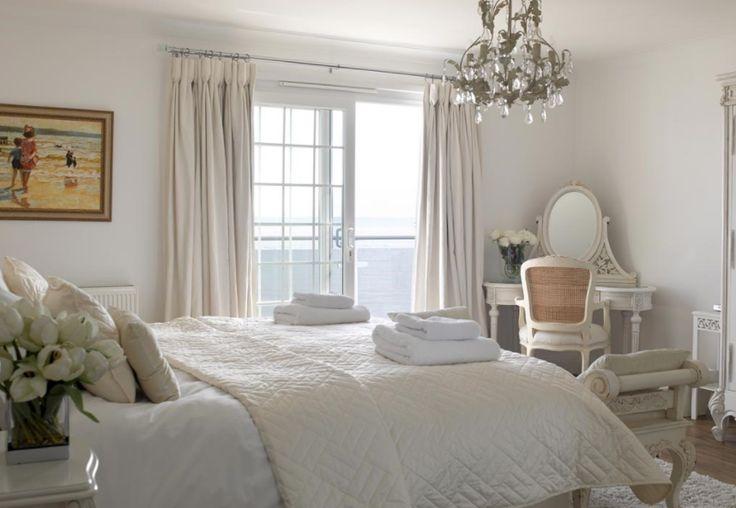white interior room
