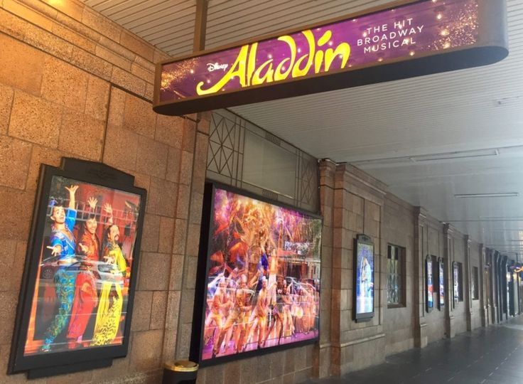 HOT: Aladdin, Her Majesty's Theatre, 291 Exhibition St, Melbourne http://tothotornot.com/2017/05/aladdin-melbourne/