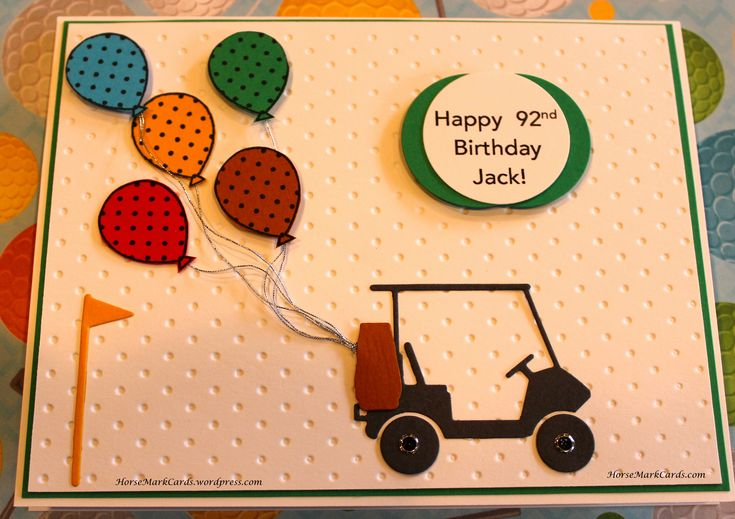 Birthday Card for a Golfer!