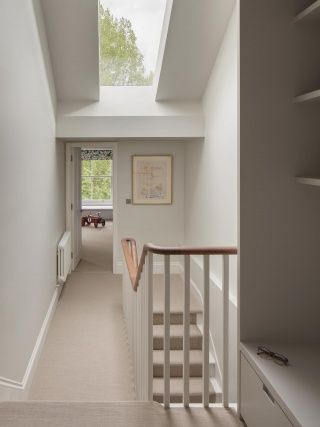 nice to get light into stairwell where no dormer