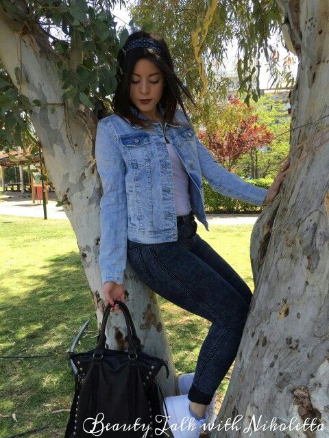 New outfit post on my blog!Check it out:http://beautytalkwithnikoletta.blogspot.gr/2015/04/all-about-denim-spring-outfit-idea.html?m=0