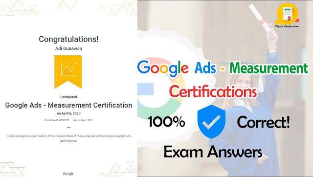 142 Soal Dan Kunci Jawaban Google Ads Measurement Certification Pemasaran Digital Belajar Marketing