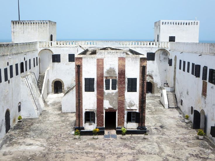 The Portuguese church in St. George's Castle (1482) at Elmina, Ghana, was used as a slave-auctioning room by the Dutch. Today it is the castle's museum.